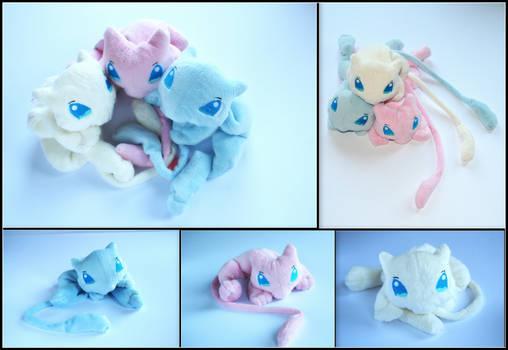 Mew Brothers - Pokemon Handmade Plushies