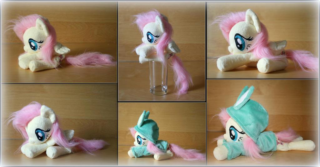 My Little Pony -Fluttershy - Handmade Beanie Plush by Lavim