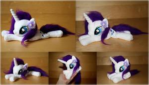 My Little Pony - Rarity - Beanie Plush by Lavim