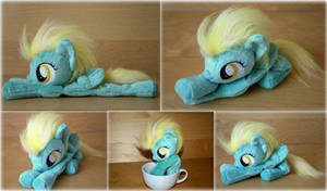 My Little Pony - Lightening Dust  - Beanie Plush by Lavim