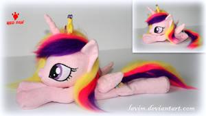 My Little Pony - Princess Cadance - Beanie Plush by Lavim