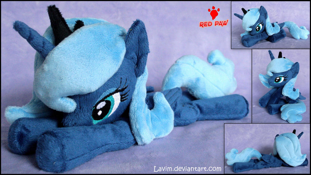 My Little Pony  Princess Luna Season1  Plush by Lavim on DeviantArt