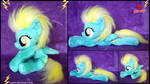 My Little Pony - Lightning Dust- Handmade Plush