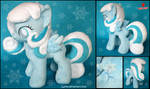 My Little Pony - Snowdrop - Handmade Plush