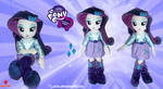 Equestria Girls - Rarity - Handmade Plush Doll by Lavim
