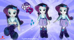Equestria Girls - Rarity - Handmade Plush Doll