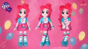 Equestria Girls - Pinkie Pie - Handmade Plush Doll