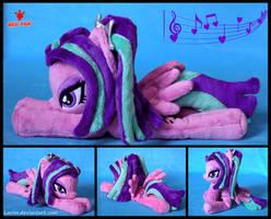 My Little Pony - Aria Blaze - Handmade Plush