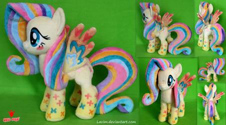 My Little Pony  -  Fluttershy Rainbow Power by Lavim