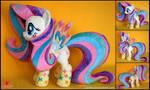 My Little Pony - Fluttershy Rainbow Power - Plush by Lavim