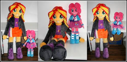 Sunset Shimmer plush doll