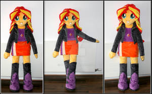 <b>Sunset Shimmer Plush Doll</b><br><i>Lavim</i>