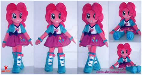 Pinkie Pie - Equestria Girls -Handmade Plush Doll