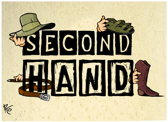 second hand shop logo by pykotta on deviantart. Black Bedroom Furniture Sets. Home Design Ideas
