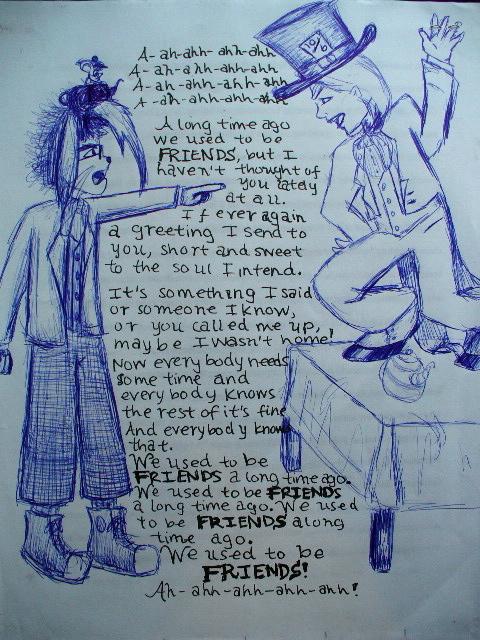 The Argument: lyrics by AtomykTickTock