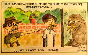 Mythbusters Zoo Trip by AtomykTickTock