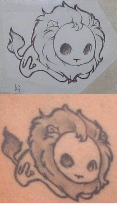 Leo Tattoo