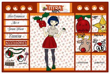 Pokemon Myra NPC Character - Holly Everbright