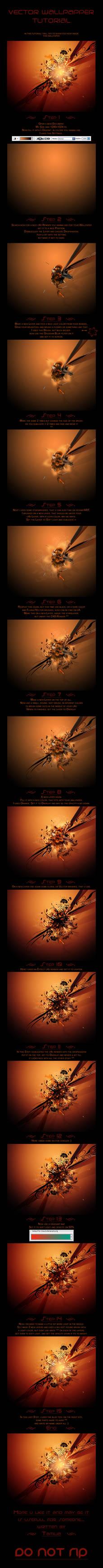 Vector-Wallpaper Tutorial by Tamilia
