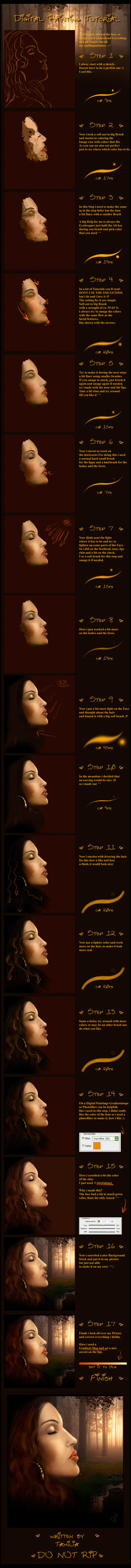 Digital Painting Tutorial by Tamilia