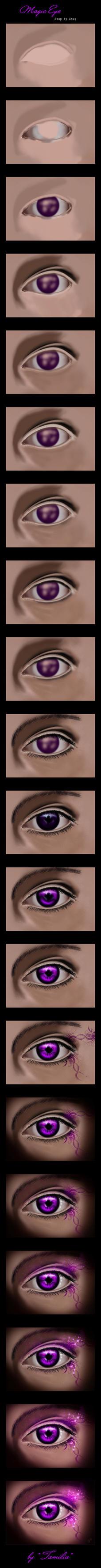 Magic Eye Step by Step by Tamilia