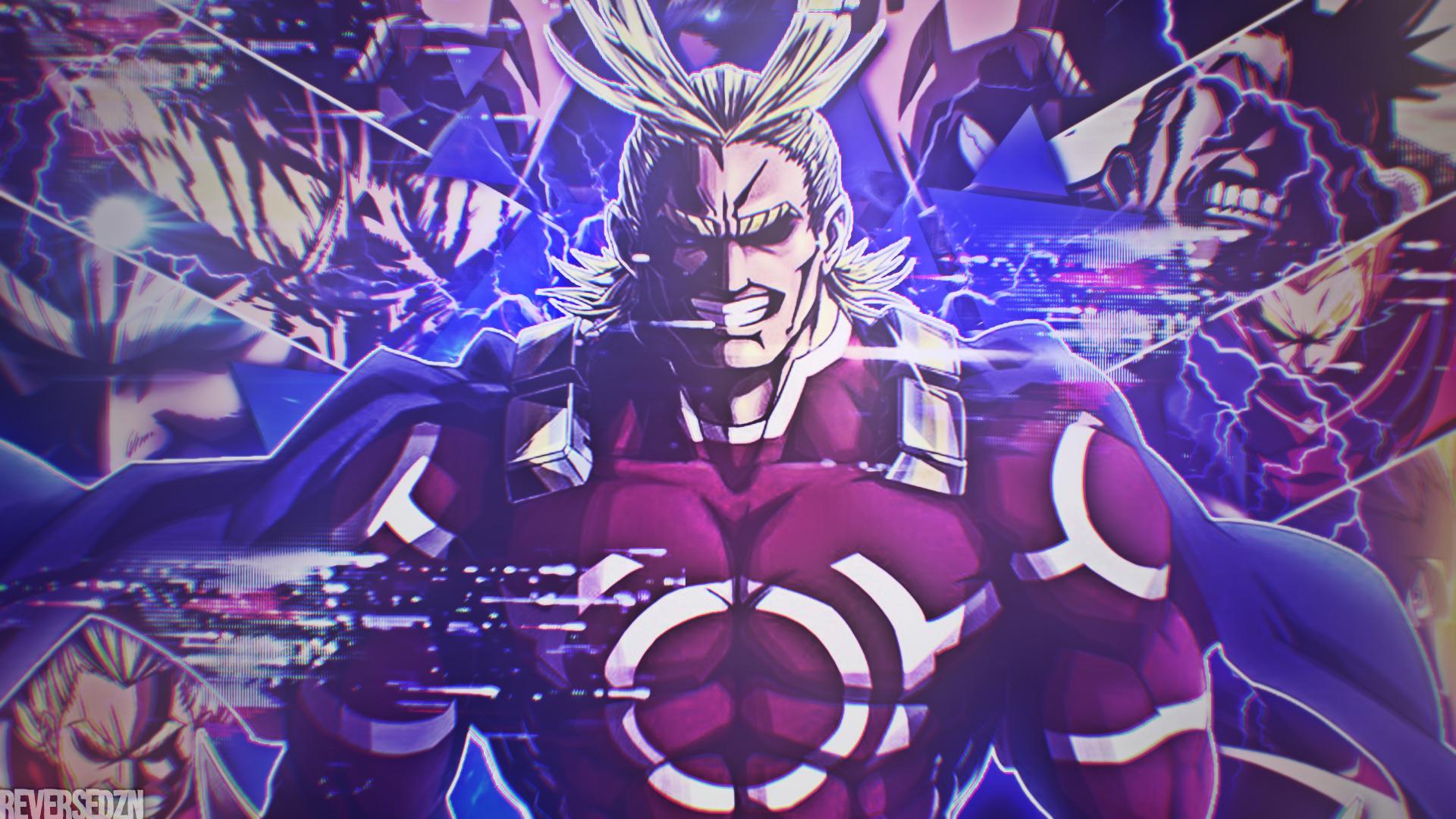 All Might Boku No Hero Academia Wallpaper By Reverseflashdzn On