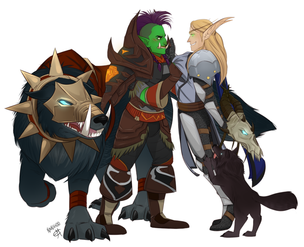 Eroga, Revilan, Maim, and Shred! by Rosewhiplash