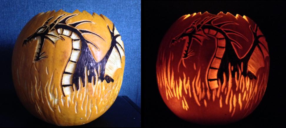 Pumpkin Carving 2016 Maleficent By Cyberraven On Deviantart