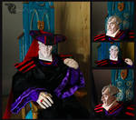 Claude Frollo Doll: new head detail by CyberRaven