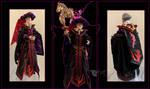 Midnight Masquerade Frollo by CyberRaven