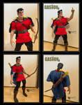 Gaston ooak doll by CyberRaven