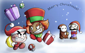 Paper VS Goons Christmas by Goons-And-A-Bandit