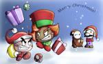 Paper VS Goons Christmas