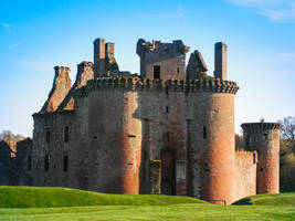 Scottland Castle by bormolino