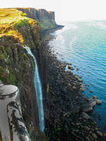 Scotland Cliffs by bormolino