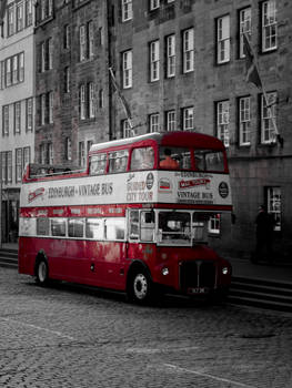 Edinburgh Vintage Bus