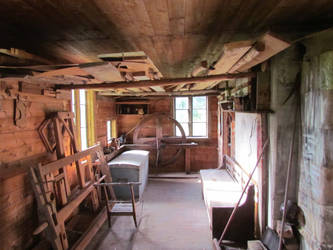 Old carpenter workshop by bormolino