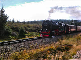 Brocken-Schmalspurbahn (Brocken light railway) by bormolino
