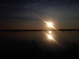 Kappeln sunset by bormolino