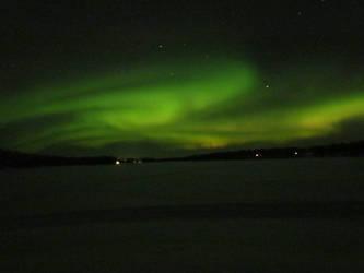 Aurora Borealis in Arvidsjaur by bormolino