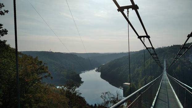 View from the Titan RT suspension bridge