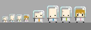 Space Adventure -pixels- by PoisonousJoy