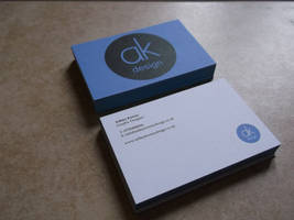 My personal Business cards by akdesignstudios