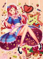 Riko Sakurauchi (lovelive) by FluffyDus