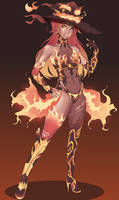 [COM]: Unstable fire witch