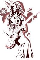 Jimmy Page Style by meddelem
