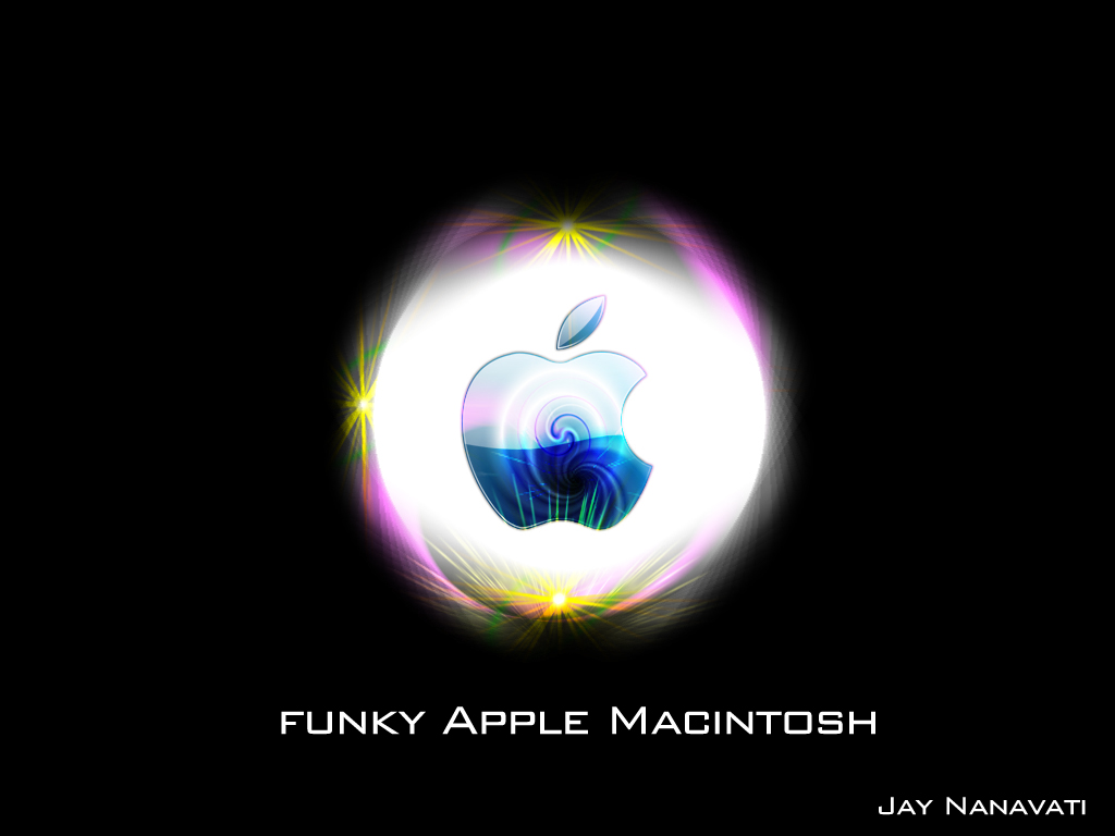 funky apple mac by jaysnanavati