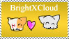 BrightXCloud stamp by Amberstarthunder