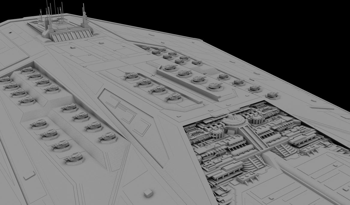 Excalibur-Class Super Star Destroyer by ExoticcTofu