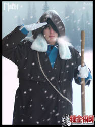 Emo Snowman :Roy Mustang: by LauNachtyr